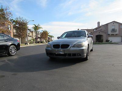 2004 BMW 5-Series 525i 2004 BMW 525i with Halo Lights