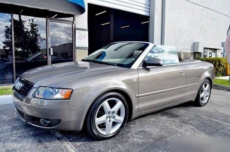 2004 Audi A4 Cabriolet Convertible 2-Door 2004 Audi A4 Cabriolet Very Clean No Mechanical Issues Perfect For Student !!!