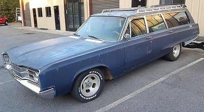 1967 Dodge Polara Base 1967 Dodge Polara Wagon 383 Mopar Runs & Drives!  Rat Rod Sleeper