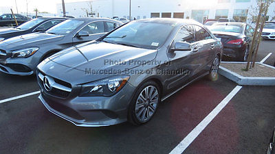2017 Mercedes-Benz CLA-Class CLA 250 Coupe CLA 250 Coupe New 4 dr Automatic Gasoline 2.0L 4 Cyl Mountain Gray Metallic