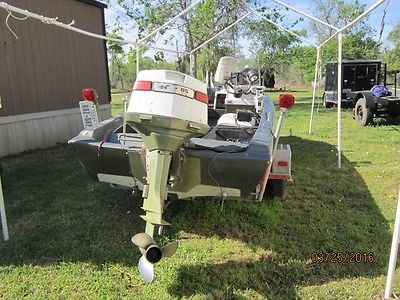 16' Glastron Bass Boat with 85 HP Johnson