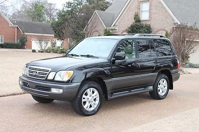 2004 Lexus LX 470 2 Owner Perfect Carfax Mark Levinson Sound TV/DVD Great Service History
