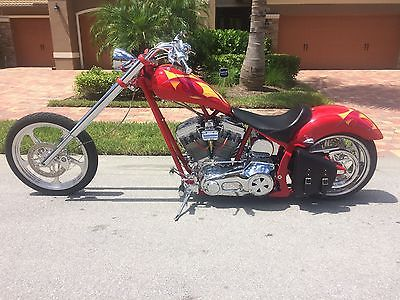 2003 Custom Built Motorcycles Chopper  custom built motorcycles  2003 ROUTE 66 SOFTAIL CHOPPER