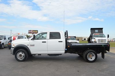 2014 Ram Other Crew Cab 4WD 2014 RAM 4500 Crew Cab 4WD 117255 Miles White CREW CAB CHASSIS 4-DR 6.7L L6 OHV
