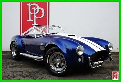 1965 Shelby Shelby Cobra Roadster 1965 Superformance 427 SC Cobra, 460ci V8, 5-sp Tremac, Only 4,522 Miles