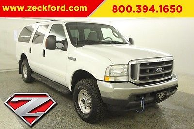 2004 Ford Excursion 4x4 6L V8 Turbo Automatic 4WD Tow Package Remote Start Cruise Aluminum Wheels