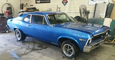 1968 Chevrolet Nova Super Sport Package 1968 Chevy II Nova SS Super Sport 4 speed - One Year Only Options - Hard Find