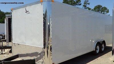 8.5 X 20' Enclosed Cargo Trailer - 2017 LARK Car Hauler