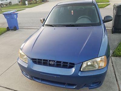 2002 Hyundai Accent GL Sedan 4-Door 2002 Hyundai Accent GL Sedan 4-Door 1.6L