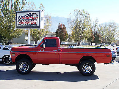1972 Chevrolet C/K Pickup 2500 Regular Cab 4WD Fully Restored 1972 Chevrolet C/K 20 Long Bed 4X4