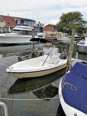 2007 17ft angler Center Console with 70hp yamaha