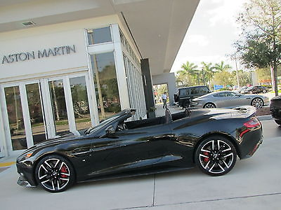 2016 Aston Martin Vanquish Carbon Convertible 2-Door 2016 16 ASTON MARTIN VANQUISH CONVERTIBLE CARBON BLACK EDITION * $340K MSRP * FL