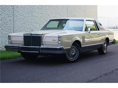 1981 Lincoln Mark Series  ONLY 56K MILES MARK VI CONTINENTAL COUPE MARK 6 RUNS & DRIVES GREAT