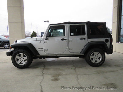 2011 Jeep Wrangler 4WD 4dr Sport 4WD 4dr Sport SUV Manual Gasoline V6 Cyl SILVER