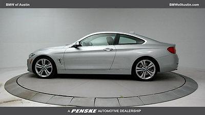 2014 BMW 4-Series 435i 435 i 4 series 2 dr coupe automatic gasoline 3.0 l straight 6 cyl glacier silver m