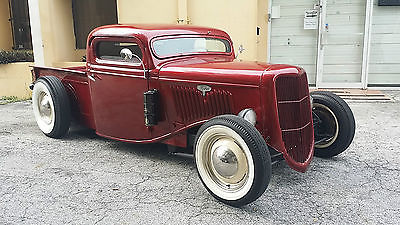 1935 Ford Other Pickups  1935 Ford Pick Up, Chopped & Channeled Hot Rod / Rat Rod Radical Kustom / Custom