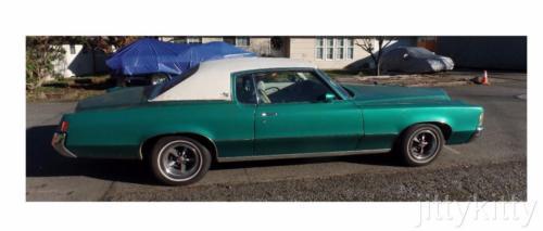 1972 Pontiac Grand Prix J Model 1972 PONTIAC GRAND PRIX J MODEL 455 V-8 STOCK AUTO TRANS / ALL POWER