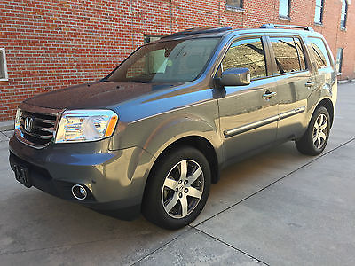 2013 Honda Pilot Touring 4WD 2013 Honda Pilot Touring w/ NAV DVD 4WD 4x4 1-OWNER CLEAN TITLE CLEAN CARFAX