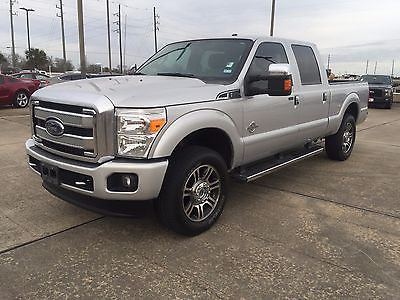 2015 Ford F-250 Platinum Certified 2015 Ford F-250SD Platinum 4WD Truck Crew Cab Power Stroke