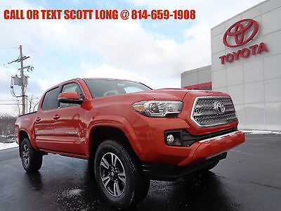 2017 Toyota Tacoma 2017 Double Cab TRD Sport V6 3.5L Navigation 4WD New 2017 Tacoma Double Cab 4x4 V6 TRD Sport Navigation Back Up Camera 4WD