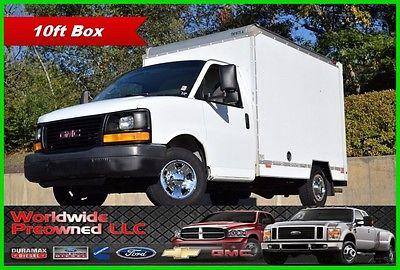 2007 GMC Savana Box Van 2007 GMC Savana Cutaway Box Van Truck 4.8L Vortec Gas Chevy Chevrolet Used SRW