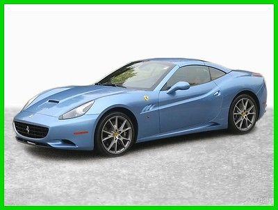 2013 Ferrari California 2013 Ferrari California Convertible 2013 2DR CONV Used 4.3L V8 32V Automatic RWD Premium