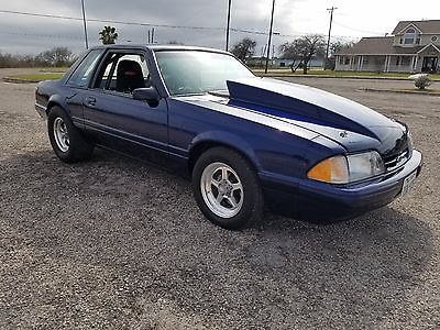 1989 Ford Mustang LX 1989 Ford Mustang Foxbody Street/Strip Over 500RWHP
