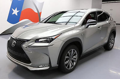 2015 Lexus NX 2015 LEXUS NX200T F SPORT SUNROOF NAV REARVIEW CAM 31K #014203 Texas Direct Auto