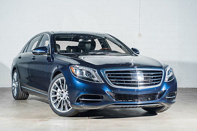 2014 Mercedes-Benz S-Class 4dr Sedan S550 4MATIC 2014 Mercedes-Benz S-Class 4dr Sedan S550 4MATIC 32,313 Miles Lunar Blue Metalli