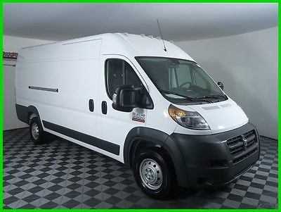 2017 Ram ProMaster High Roof FWD V6 Cargo Van Backup Camera USB AUX 2017 RAM 3500 FWD Cargo Van UConnect 5.0in Cloth Seats 4 Speakers Automatic