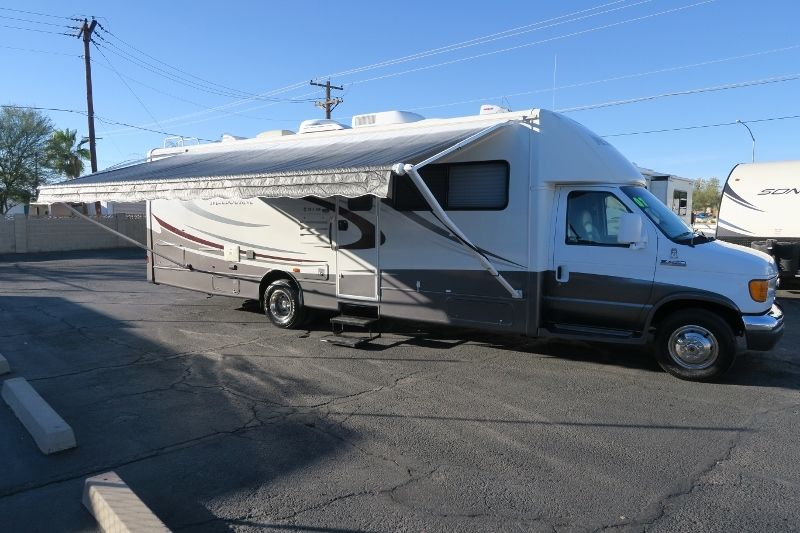2007 JAYCO MELBOURNE 29C 2 SLD FORD E450 V10 JACK CAMERA SELF CONTAINED IN AZ!