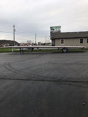 Hotshot flat bed trailer
