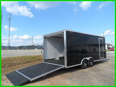 20' Aluminum enclosed toy car hauler trailer cargo motorcycle