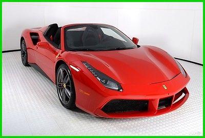 2016 Ferrari Other  2016 FERRARI 488 SPIDER, LOADED WITH OPTIONS, 1521 MILES, @FERRARI OF HOUSTON