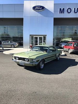 1968 Ford Mustang GT/CS 1968 FORD MUSTANG CALIFORNIA SPECIAL 289 V8 SHOW CAR BEST DEAL ON EBAY LOOK!!