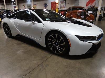 2014 BMW i8 -- 2014 BMW i8 657 Miles Crystal White 2dr Car 3 Cylinder Engine 1.5L 6-Speed A/T