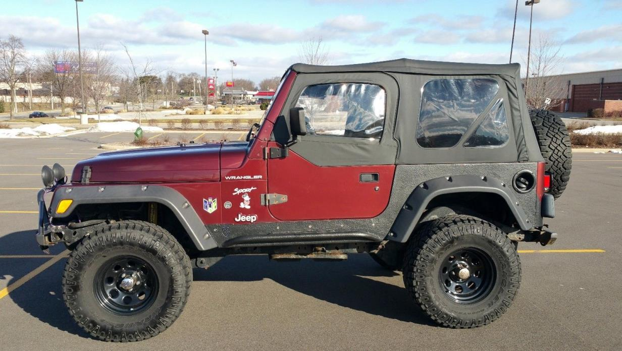 2002 Jeep Wrangler Sport 2002 Jeep Wrangler Sport. Built well for on and off-road.