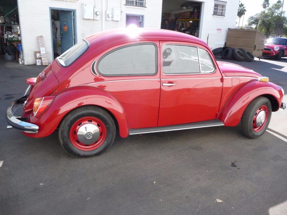 1971 Volkswagen Beetle - Classic 1971 Volkswagen Super Beetle Rust-Free Restored