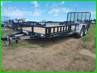 2017 Load Trail 14' Tandem Axle Utility New