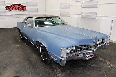 1968 Cadillac Eldorado Runs Drives Body Int Good 472V8 3spd auto 1968 Blue Runs Drives Body Int Good 472V8 3spd auto!