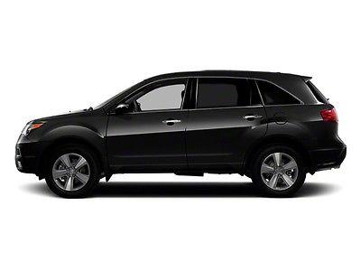 2012 Acura MDX AWD 4dr AWD 4dr SUV Gasoline 3.7L V6 Cyl Crystal Black Pearl