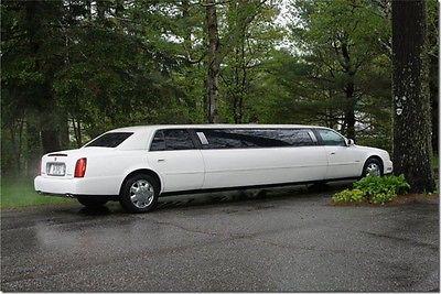 2003 Cadillac DeVille limousine