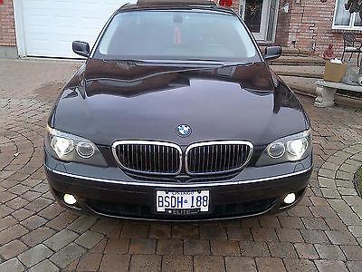 2006 BMW 7-Series SPORTS PKG. 2006 BMW JET BLACK ON BLACK 750LI SPORTS PKG. 4.6L V8 7 SPEED AUTO.