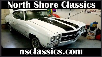 1970 Chevrolet Chevelle -REAL SS396-SUPER SPORT-FACTORY 4 SPEED-DRIVER QUA 1970 Chevrolet Chevelle -REAL SS396-SUPER SPORT-FACTORY 4 SPEED-NUMBERS MATCHING