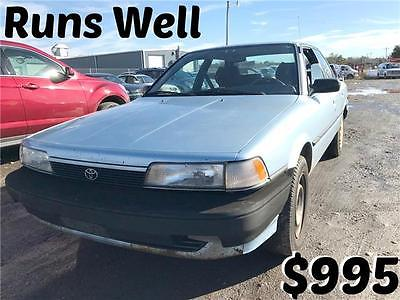 1991 Toyota Camry DLX Blue  4-Speed A/T 4 Cylinder Engine 2.0L/122 Call Mark 301-503-5309