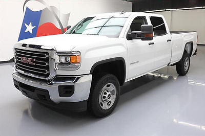 2016 GMC Sierra 2500  2016 GMC SIERRA 2500 HD CREW 6PASS LONGBED REAR CAM 19K #101693 Texas Direct