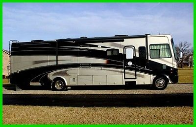 2008 Tiffin Motorhomes Allegro Bay 37 QDB 37' Class A Cummins Diesel 4 Slides OH