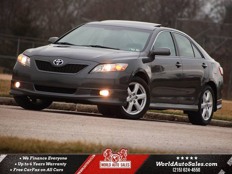 2007 Toyota Camry SE 4dr Sedan (2.4L I4 5M) 2007 Toyota Camry SE 4dr Sedan (2.4L I4 5M) Manual 5-Speed FWD I4 2.4L Gasoline