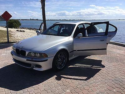 2001 BMW M5 E39 M5 *2001 BMW E39 M5! Rare! Titanium Silver! Books & manuals! Financing!*