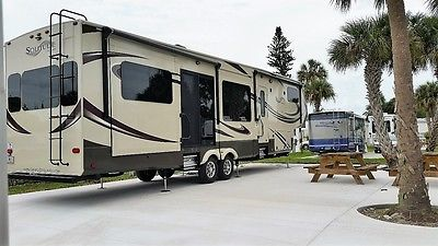2015 Grand Design Solitude 375RE 5th Wheel